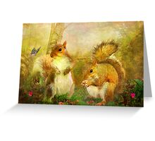 Brambleberry and Dandelion Greeting Card