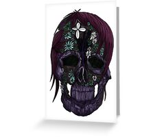 Plant Skull (3) Greeting Card