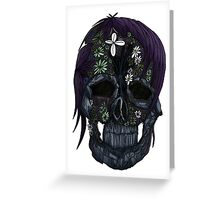 Plant Skull (2) Greeting Card