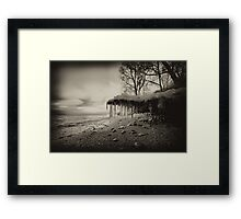 ..grip.. Framed Print