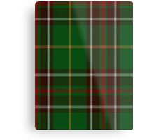 00114 Newfoundland District Tartan  Metal Print