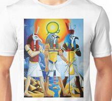 Egyptian Ra, Horus and Set Unisex T-Shirt