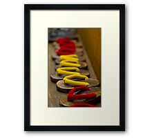 For guest use Framed Print