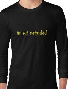 im rot netarded Long Sleeve T-Shirt