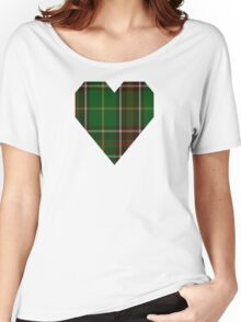 00114 Newfoundland District Tartan  Women's Relaxed Fit T-Shirt