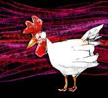 cheerful chook  by Matt Mawson