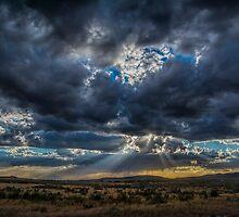 Thunderstorm Rays  by Nicole  Markmann Nelson