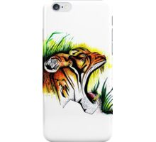 Tiger In The Wild iPhone Case/Skin