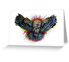 Color Barn Owl Greeting Card