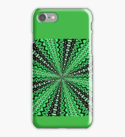 Green zing iPhone Case/Skin