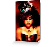 Gypsy Woman Greeting Card