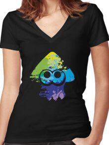 Inkling Women's Fitted V-Neck T-Shirt