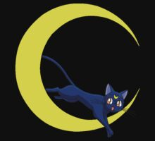 Luna Cat of Sailor Moon by fareegees