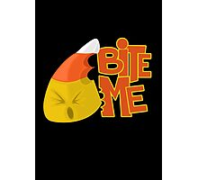 Bite Me - Candy Corn Photographic Print