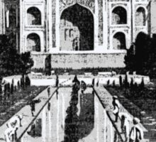 Old Taj Mahal  Sticker