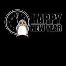 Happy New Year - Penguin by Adamzworld