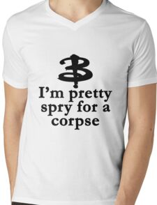 Buffy The Vampire Slayer Quote v3.0 Mens V-Neck T-Shirt