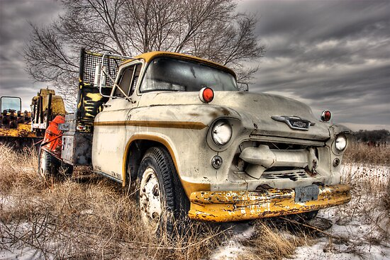 Chevy Masonry Truck by Timothy S Price