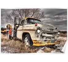 Chevy Masonry Truck Poster