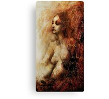 The Scarlet Woman Canvas Print