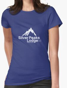 Silver Peaks Lodge Womens Fitted T-Shirt