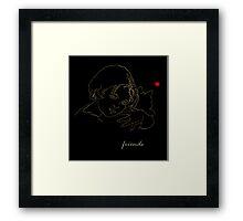 'FRIENDS' Framed Print
