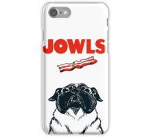JOWLS Pug Movie Poster Parody iPhone Case/Skin