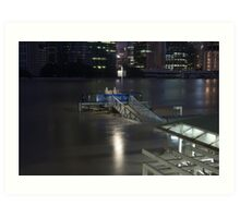Brisbane Floods 2011 Art Print