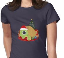 Christmas - Turtle Womens Fitted T-Shirt