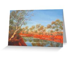 """Outback Creek"" Greeting Card"