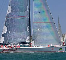 supermaxi yacht wild oats x1  by martinberry