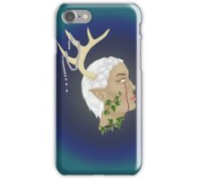 Woodland Fairy with background iPhone Case/Skin