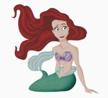 Ariel Sitting Kids Clothes