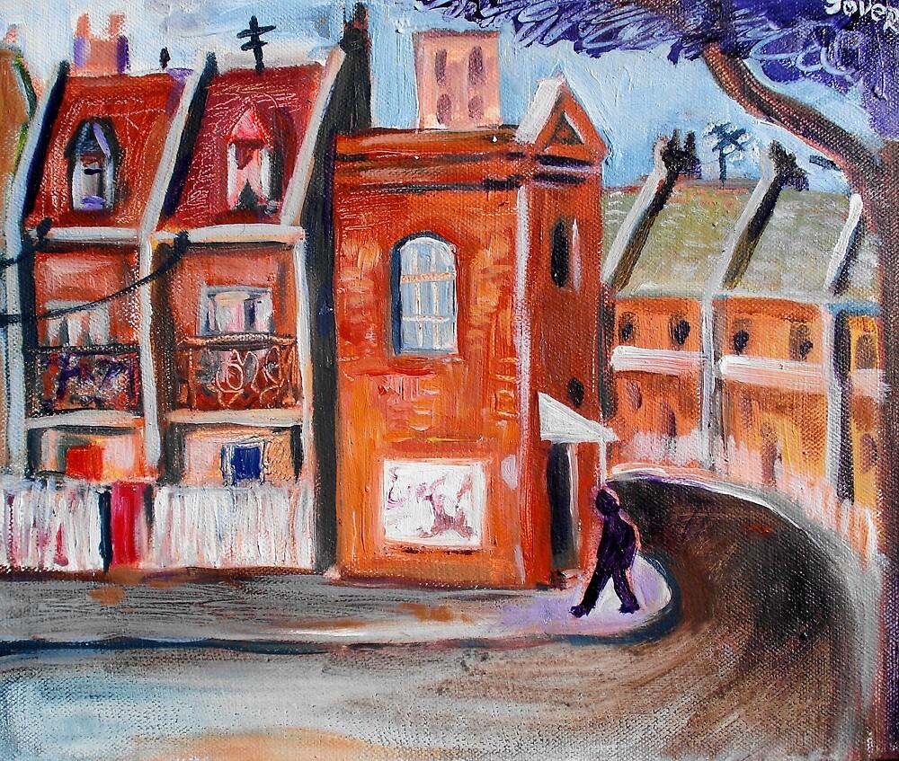 inner suburb by Loui  Jover