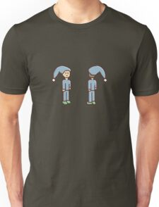 Pixel Person Sleepy Unisex T-Shirt