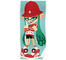 Retro Inkling Poster