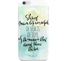 She Wept. iPhone Case/Skin