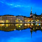 Reflections of Gamla Stan - Stockholm, Sweden by Yen Baet