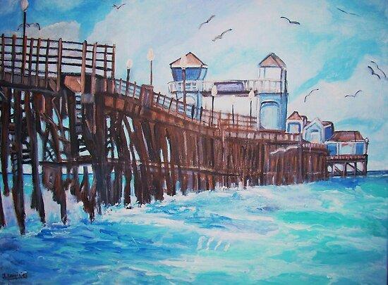 Oceanside Pier by Teresa Dominici
