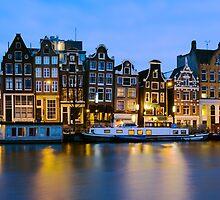 Houses in Amsterdam - The Netherlands by Yen Baet