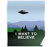 I Want to Believe  Poster