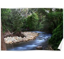 A creek in Buxton Poster