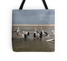 Pelican Beach II Tote Bag
