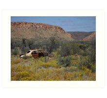 Old Kingswood, West MacDonnell National Park, Central Australia Art Print