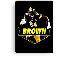 Antonio Brown - Pittsburgh Steelers Canvas Print