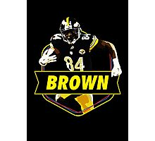 Antonio Brown - Pittsburgh Steelers Photographic Print