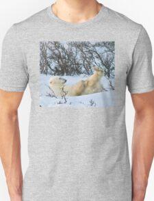 Yoga Bear's nice knees Unisex T-Shirt
