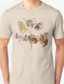 Winx Club Enchantix Unisex T-Shirt