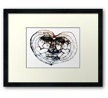 Scribbler Heart of mine Framed Print