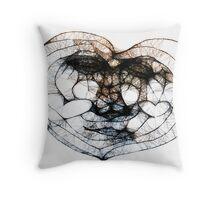 Scribbler Heart of mine Throw Pillow